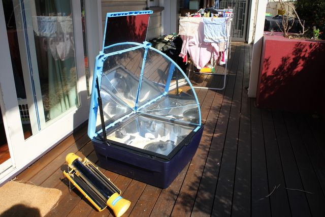 Sun cook solar oven and solar kettle