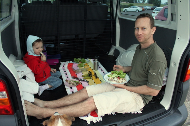 Picnic in the new van