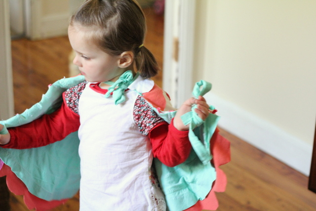 Dress up wings kids repurposed t-shirts 4b