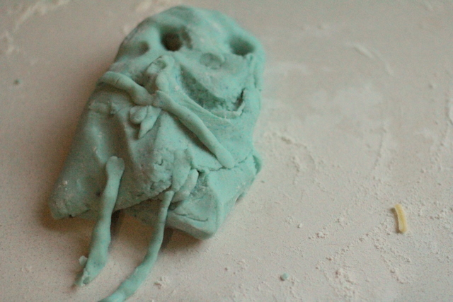 Homemade playdough 4