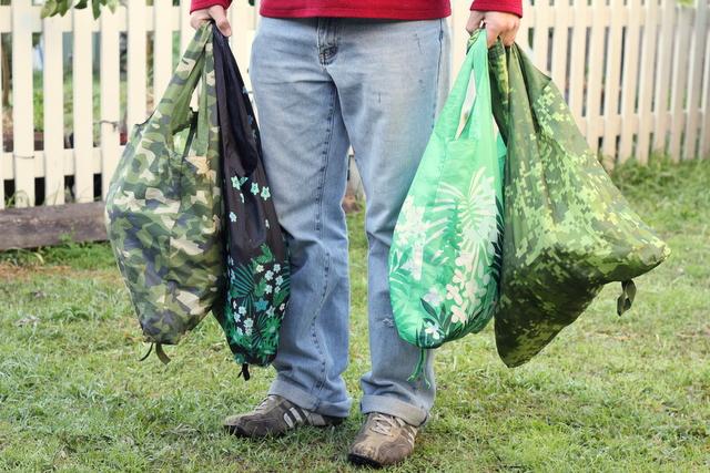 Reusable bags eco shopping