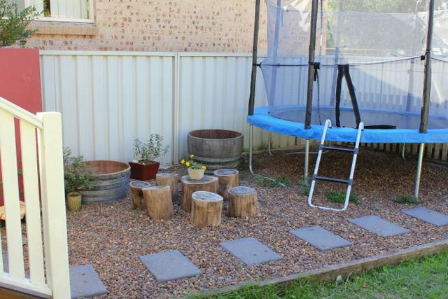 Natural backyard playground 6