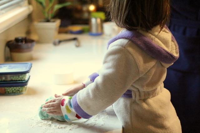 Homemade playdough 1