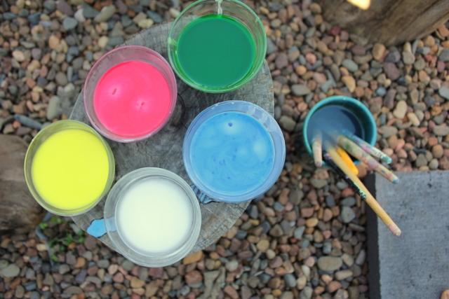 Action pack issue 5 cornflour chalk paint