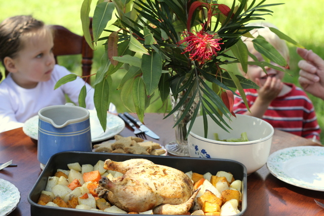 Sun cooking australia solar christmas feast