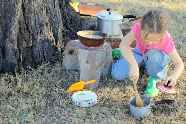 Mud play kitchen