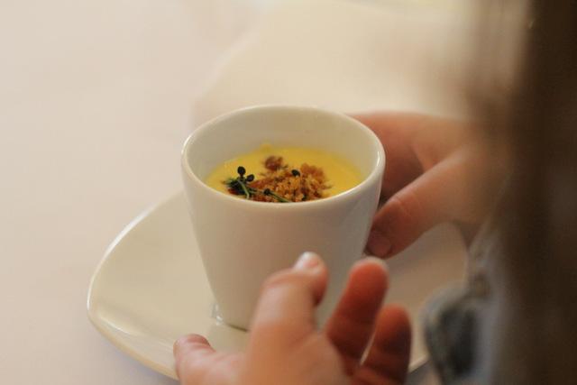 Margan Resturant Hunter Valley 100 m meal corn soup