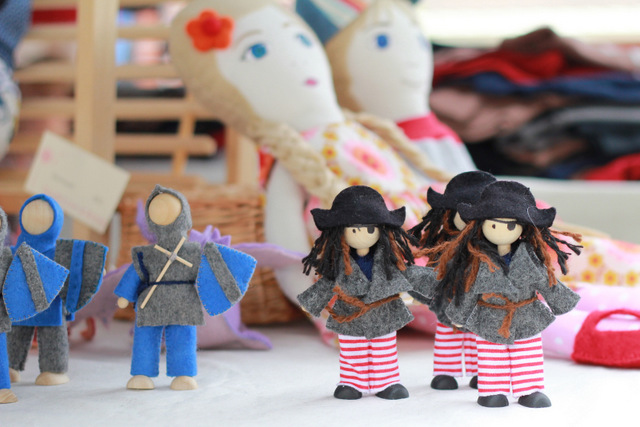 Handmade toys by Dandelion and Honey - Fig Tree Markets - Tricia Hogbin little eco footprints