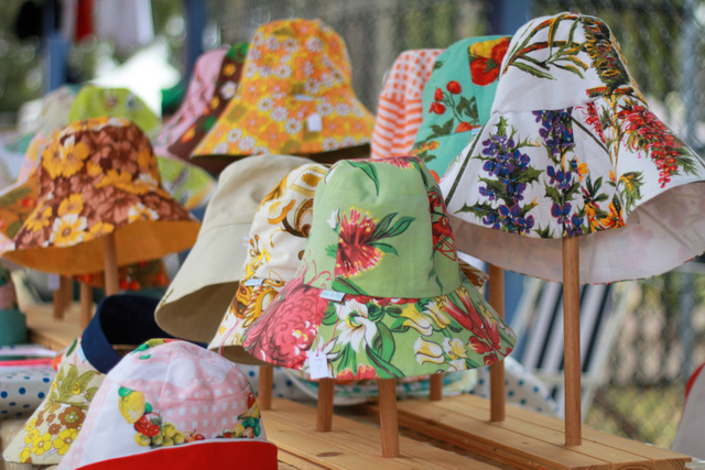 Hats by Ike and fly _ Fig Tree Markets  - Tricia Hogbin Little eco footprints
