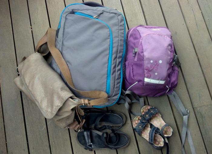 Tips for Travelling light by Little eco footprints