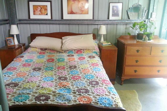 Shed home bedroom
