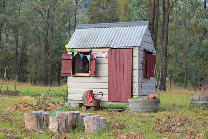 Slow spending pays off - this preloved cubby didn't cost a cent