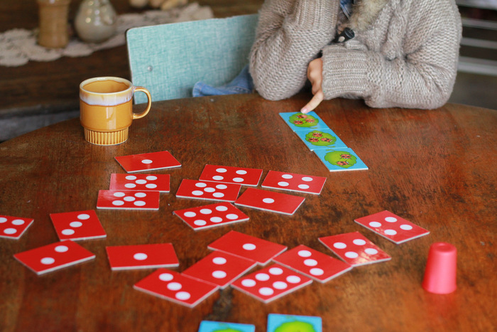 Tips for reducing TV time - Enjoying a board game instead of watching television