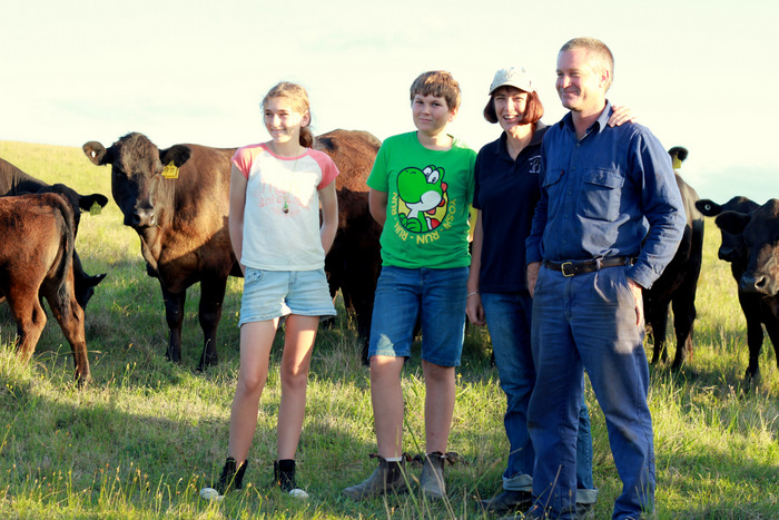 David-and-Kim-Barnes-of-the-Little-Black-Cow-Farm-are-passionate-about-helping-people-connect-with-their-food. Little eco footprints