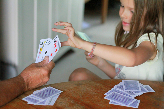 Card-games-for-children-played-with-standard-52-card-deck. Little eco footprints