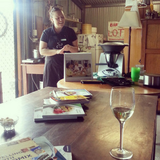 Shed home 6. I even hosted a shed home thermomix party. Lucy of Mixinit.