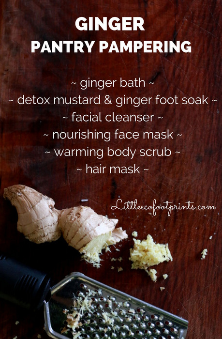 Ginger-pantry-pampering-recipes-Little eco footprints