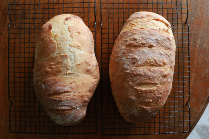 Simple-living-encourages-learning-new-skills-rather-than-posessions-like-sourdough-bread-baking-Little eco footprints