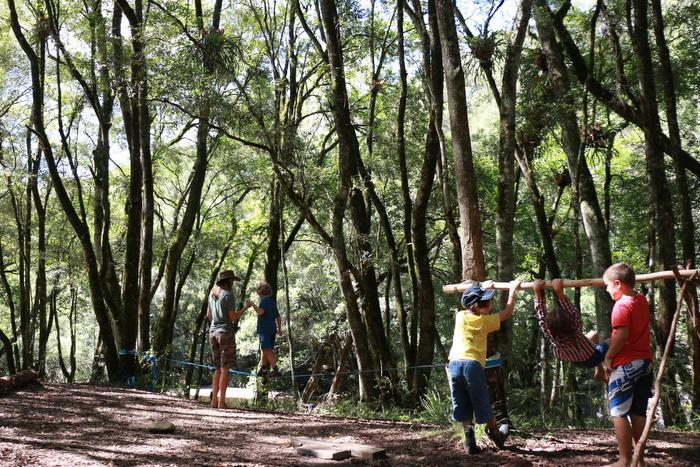 Wildcraft Australia Wildcraft Kids Camp. Natural gym. Little eco footprints