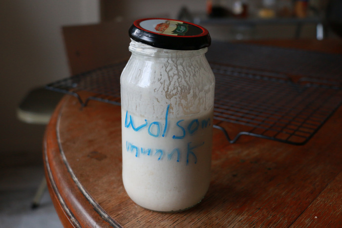 Sourdough starter. Little eco footprints