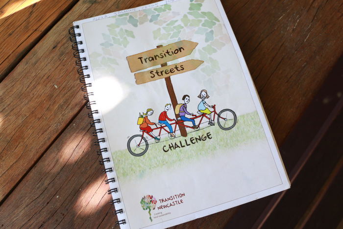 The Transition Streets manual produced by Transition Newcastle. Little eco footprints