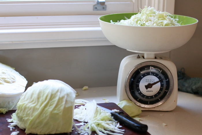 How to make sauerkraut 5. Little eco footprints
