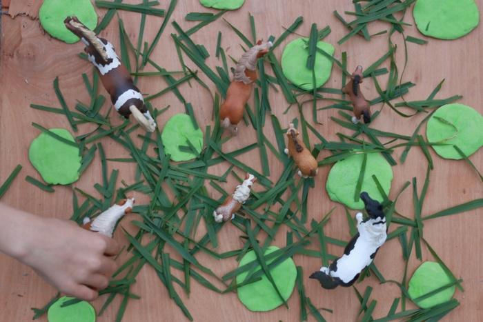 Playdough play 2 little eco footprints