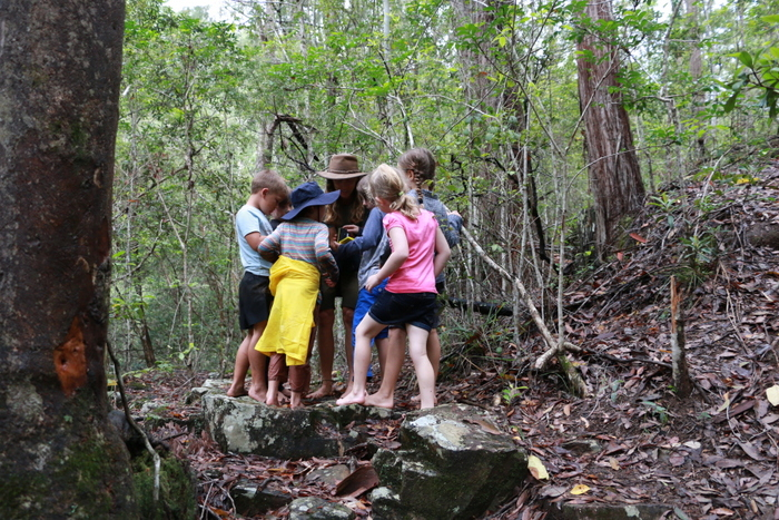 Wildcraft Australia Wildcraft Kids Camp. Barefoot bushwalking