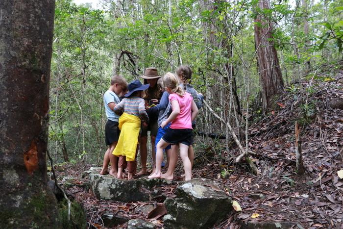 Wildcraft Australia Wildcraft Kids Camp. Barefoot bushwalking
