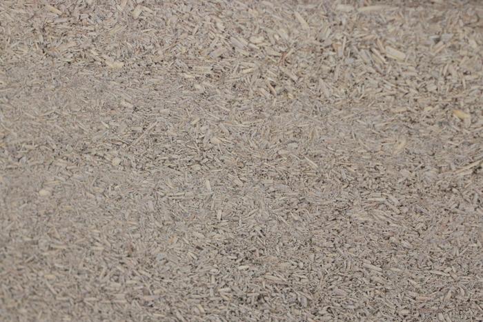 Natural texture of hemp walls. Little eco footprints